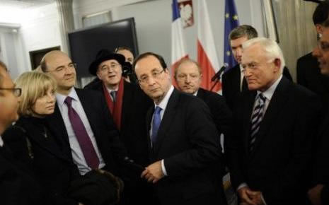 Hollande en Pologne
